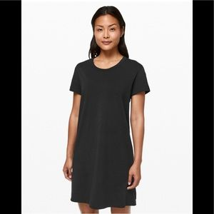 Lululemon Day Tripper Dress 12 Black Gently Loved